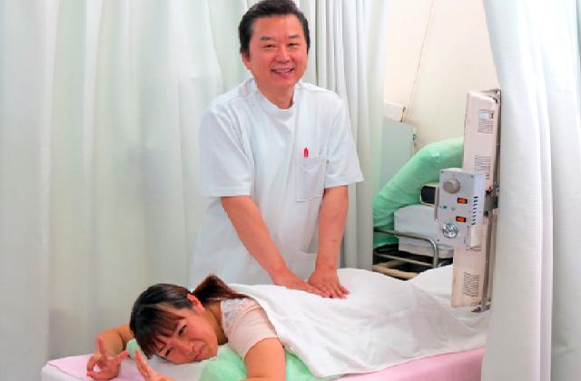 患部に最適な治療をします!