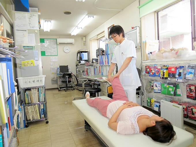 患部に「最適な治療」を行います