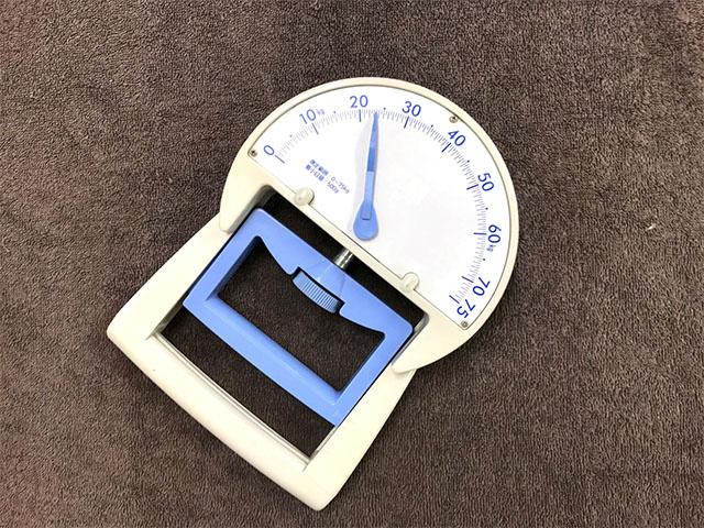 毎月体力測定をして、活動性の変化を管理しています!